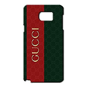 Gucci Logo Phone Case for Samsung Galaxy Note 5 3D Black Slip On Cover