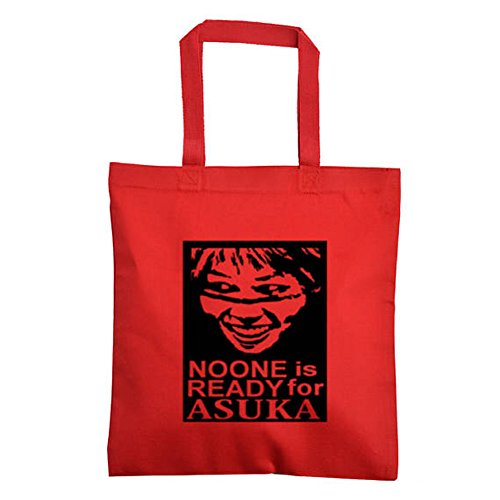 Asuka Empress of Tomorrow WWE Canvas Tote Bag (Red) by Squared Circle