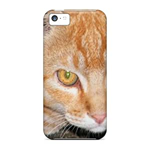 SqZ166gtdQ Tpu Phone Case With Fashionable Look For Iphone 5c - Cat