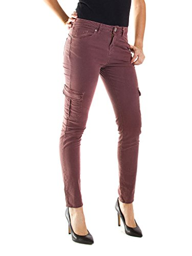 Cargo Vita Regular Jeans Skinny Tinta Gabardina Donna Tessuto Per Vestibilità Modello Pantalone 770 Unita Carrera Y41wTq1