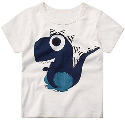 Csbks Kids Boys Summer Outfits Short Sleeve T-Shirt /& Shorts Sets 1-6 Toddler