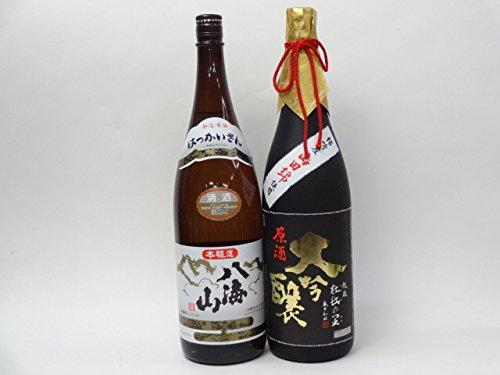 特選日本酒セット 八海山 越後杜氏の里 スペシャル2本セット(本醸造 大吟醸)1800ml×2本  B014COXCTA