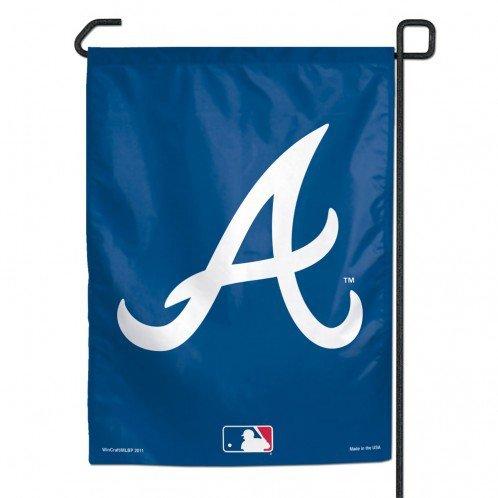 WinCraft MLB Atlanta Braves Garden Flag, 11