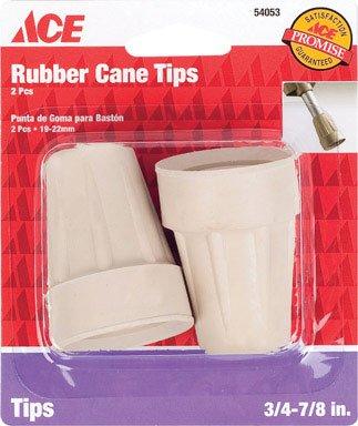 Ace 3/4in -7/8in Crutch or Cane Tip
