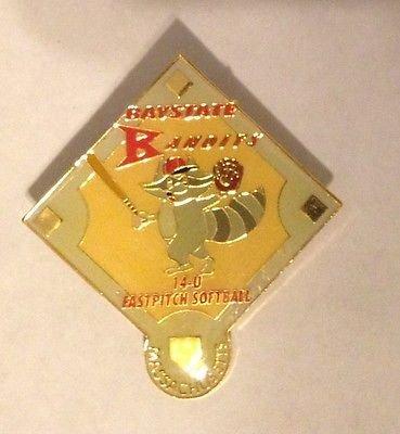 Baystate Bandits Massachusetts Fastpitch Softball Pin from Softball