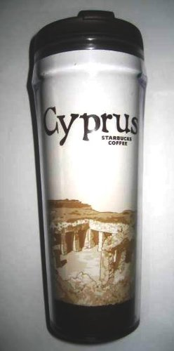 China Tumbler (Starbucks Global City Icon Collection Tumbler - CYPRUS -12 Oz/355 Ml)