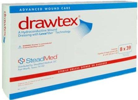Drawtex Hydroconductive Wound Dressing 8 x 39 [Box of 5]