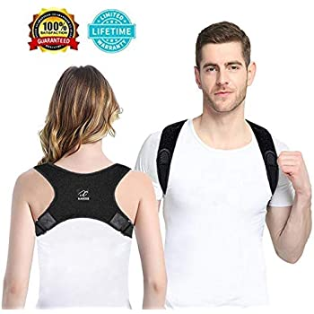 Orthopedics & Supports Posture Correcter Back Brace,adjustable Breathable Comfort Clavicle & Shoulder L Medical & Mobility