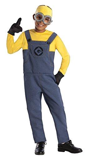 Minion Dave Costume - Medium (Gru And Minions Costumes)