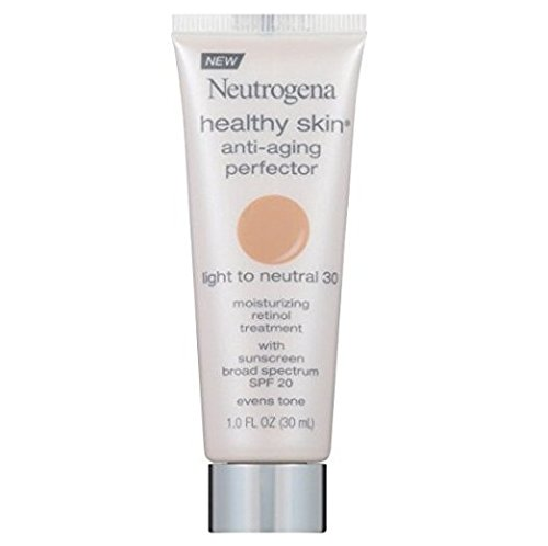 30 Healthy (Neutrogena Healthy Skin Anti-Aging Perfector, 30/Light To Neutral, 1 Fl Oz)