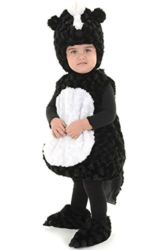 Skunk Dog Little Stinker Costume (Lil Stinker Skunk Plush Body Toddler)