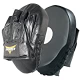 ProForce Thunder Curved Leather Focus Mitts