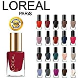 Loreal Nail Polish Colors L'oreal Finger Nail Polish Color Lacquer Set 10-Piece All Different Colors No Repeats