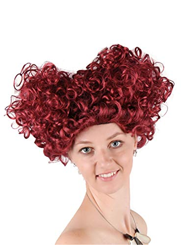 Cosplay Wig Curly Beehive Synthetic Hair for Women Girls Halloween Cosplay Anime Party ()