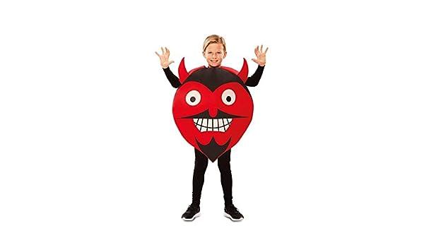 Disfraz de Emoticono Diablo para niños: Amazon.es: Juguetes y juegos