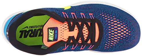 Nike Kvinna Fri Rn Lila Dynasti / Volt / Svart / Ljus Mango