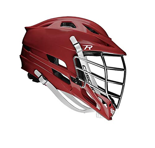 5a0938bf Cascade R Lacrosse Helmet - (Maroon Shell/Chrome Facemask)