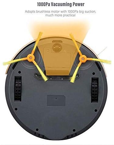 CHUTD Aspirateur Robot, Machine de Nettoyage à Divers Modes de Nettoyage à Aspiration élevée 1000Pa conçue pour Les sols durs et Les Tapis Minces