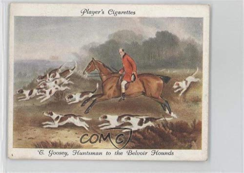 Hounds Belvoir (T. Goosey, Huntsman of the Belvoir Hounds (Trading Card) 1938 Player's Old Hunting Prints - Tobacco [Base] #8)