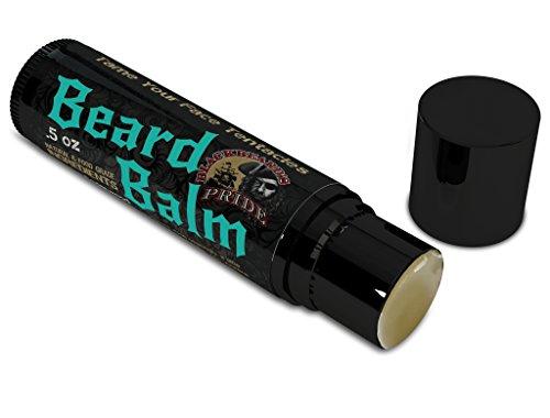 Blackbeard Beard (BlackBeard's Pride Beard and Mustache Balm Stick, Bay Rum Scent)