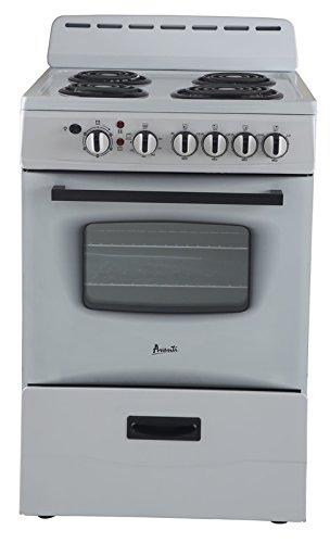 Amazon.com: Avanti ER24P0WG White 24 in. Electric Range: Kitchen ...