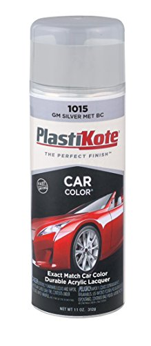 PlastiKote 1015 GM Silver Metallic Base Coat Automotive Touch-Up Paint - 11 oz. - 70 Somerset Island