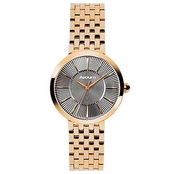 Relógio Akium Feminino Aço Dourado - 10029FB-01-VEIG-763  Amazon.com ... 320759cc4b