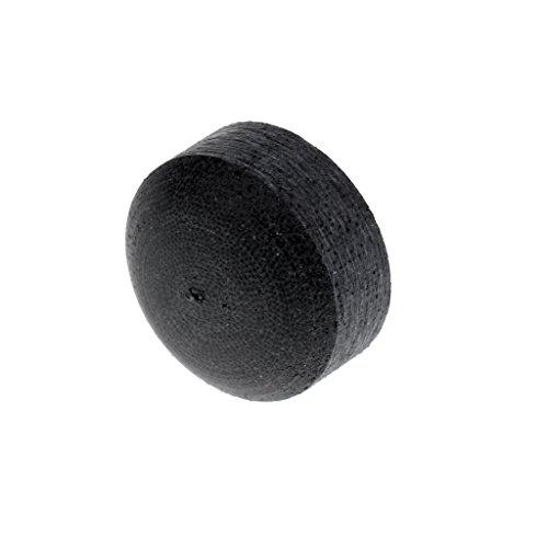Homyl Jump and Break Pool Cue Stick Tips - 13mm - Black ()