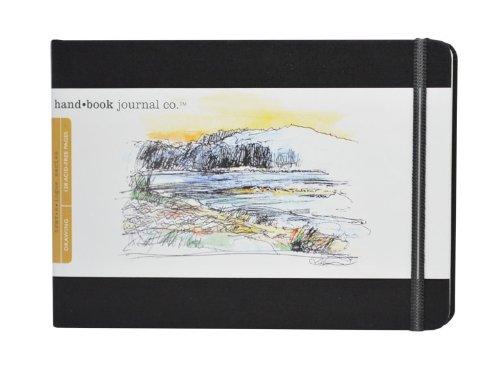 GlobalArt Zeichenblock Zeichenheft   Skizzenbuch, Cadmium Grün, Pocket Landscape B001F8Q8GQ    | Erlesene Materialien