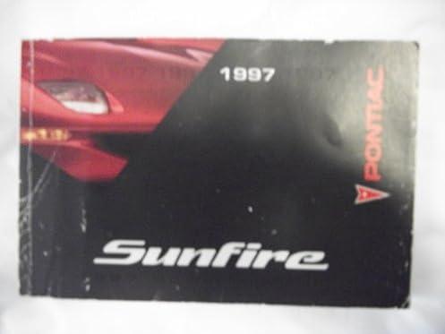 1997 pontiac sunfire owner s manual general motors corp amazon rh amazon com 1997 pontiac sunfire repair manual 1997 pontiac sunfire repair manual