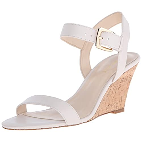 Off White Wedges: Amazon.com