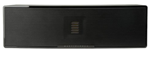 MartinLogan Motion 6 Center Channel Speaker with Folded-Motion Tweeter (Piano Black)