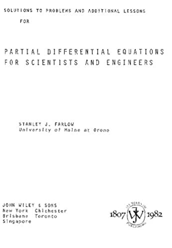 partial differential equations for scientists and engineers rh amazon com differential equations solution manual blanchard devaney elementary differential equation solution manual