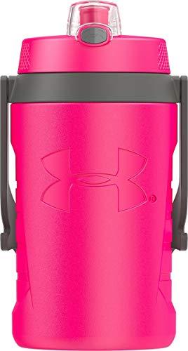 Under Armour Sideline 64 Ounce Water Jug, Rebel Pink (Botle Water Pink)