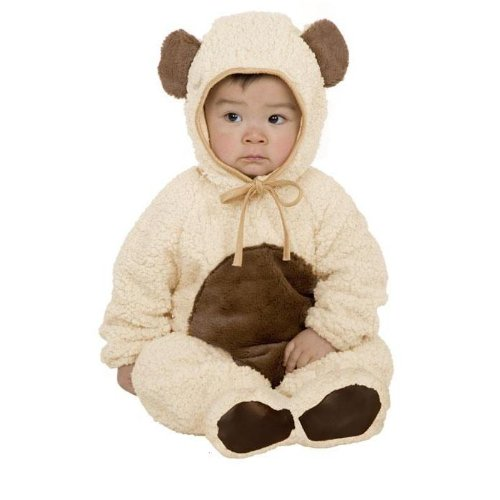 Charades Oatmeal Bear Halloween Costume - 0-6 Months