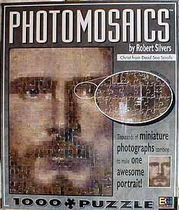 Photomosaics by Robert Silvers Christ from Dead Sea Scrolls