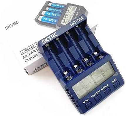 Amazon.com: SKYRC NC1500 AA/AAA Cargador de batería y ...