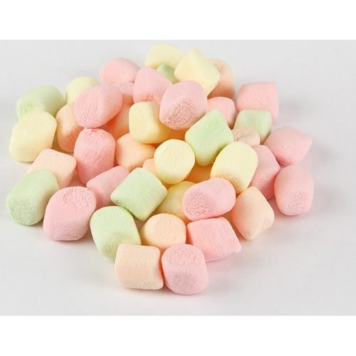 Clown Global Brands Mini Colored Marshmallows - 1 lb. poly bag, 12 per case