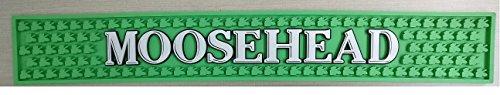 Moosehead Canadian Lager Professional Bar Mat Spill Mat Rail Drip Mat ()