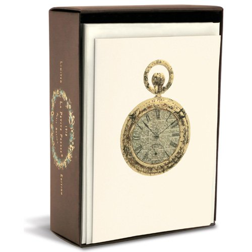 Pocket Watch Limited Edition Box of 10 Blank Note Cards (Watch Ltd Watches)