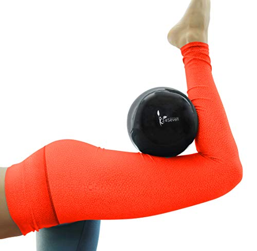Small 9 Inch Pilates Ball with Pump by 24Seven