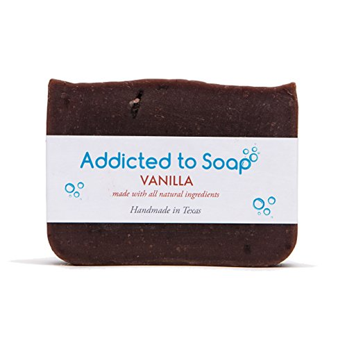 - Addicted to Soap - Vanilla Soap | Specially Formulated - All Natural Ingredients for Perfectly Clean Skin and a Beautifully Refreshing Scent - Handmade with Love in Texas