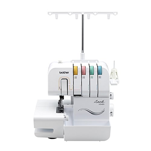 DX, 3/4 Thread Serger with Differential Feed, 3 or 4 Thread Capability, 1,300 Stitches Per Minute, Color-Coded Threading Guides (Bernina Serger)
