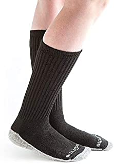 product image for Doc Ortho Ultra Soft Silver Diabetic Socks, 8 Pairs, Crew