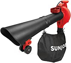 Sun Joe SBJ606E-GA-RED 14 Amp 250MPH 4-in-1 Electric Blower/Vacuum/Mulche...