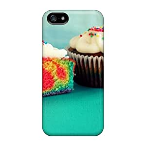 Ics13914QxHu Tpu Phone Cases With Fashionable Look For Iphone 5/5s - Cakes Black Friday
