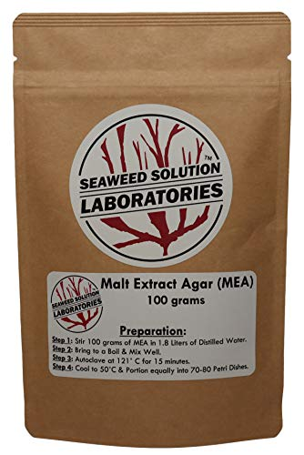 Malt Extract Agar (MEA) Dehydrated, 100 grams
