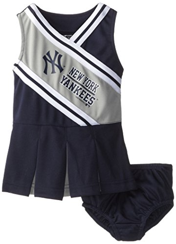 MLB New York Yankees Cheerleader Set (Navy), 4T