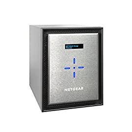 NETGEAR ReadyNAS 6-Bay Ultimate Performance Network Attached Storage, Diskless, 60TB Capacity, Intel Xeon 2.2GHz Quad Core Processor, 8GB RAM (RN626X00-100NES) 8 ULTIMATE PERFORMANCE - Up to 20 gigabit per second data access and amazing processing power to perform business and media applications 2X 10GbE ports to utilize your 10G infrastructure for fast data sharing and backup throughput HIGH-PERFORMANCE - Get 2x faster business application processing with the latest 64-bit technology