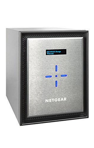 NETGEAR RN526XE6-100NES ReadyNAS 6 Bay 36TB Enterprise Premium Performance NAS, 60TB Capacity Network Attached Storage, Intel 2.2GHz Dual Core Processor, 4GB RAM